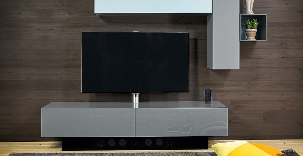 Geschlossene Tv-Möbel : Brick